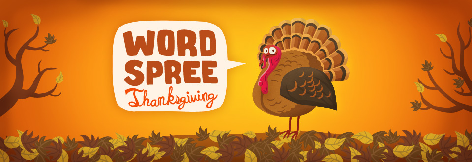 Word Spree: Thanksgiving